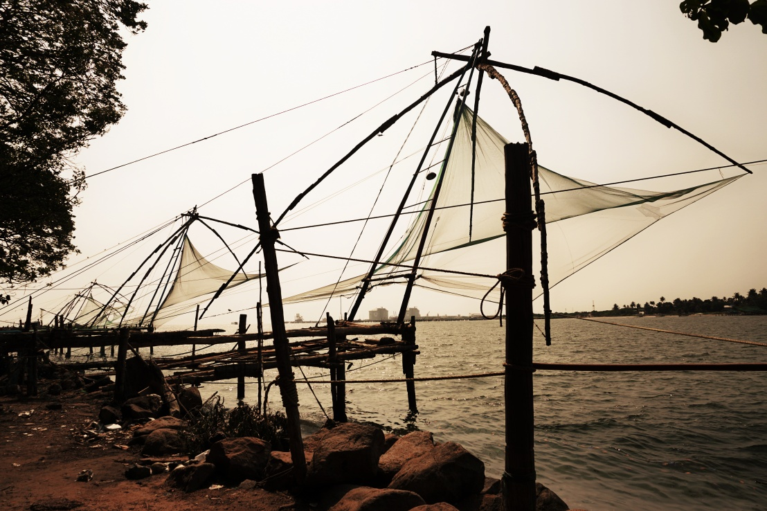 Breakfast with friends and a tour of FortKochi