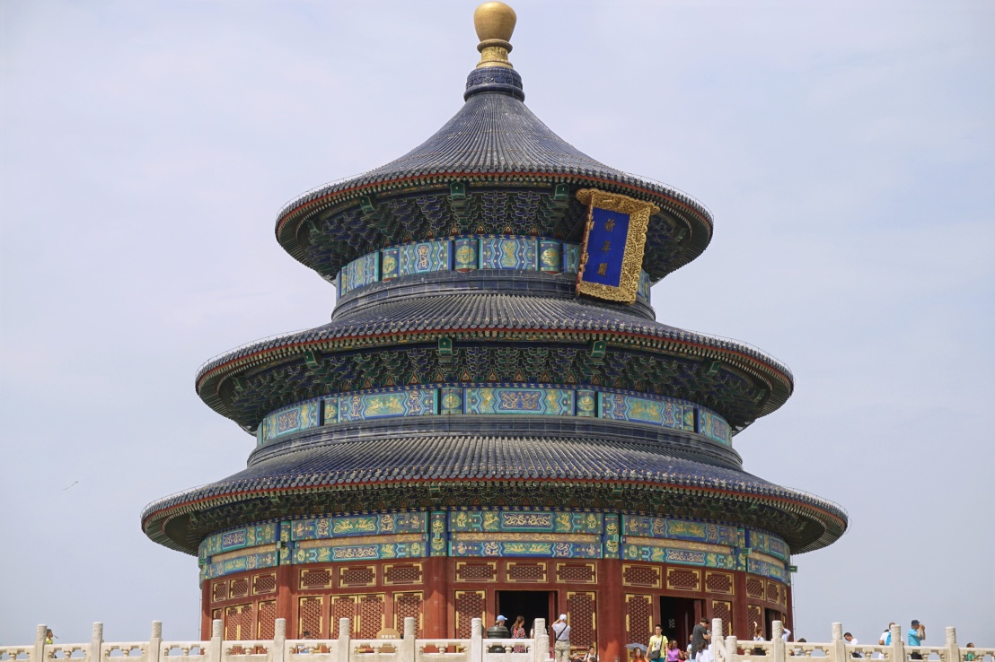 Temple of Heaven and 2008 Olympic Stadium